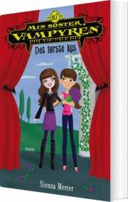 min søster, vampyren 7: det første kys - bog