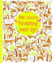 min store findebog med dyr - bog
