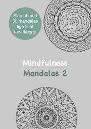 mindfulness mandalas 2 - malebog for voksne - bog