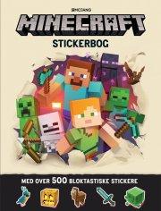 minecraft stickerbog med over 500 klistermærker - Kreativitet