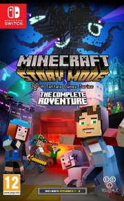 minecraft - story mode: the complete adventure - Nintendo Switch