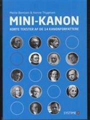 mini-kanon - korte tekster af de 14 kanonforfattere - bog