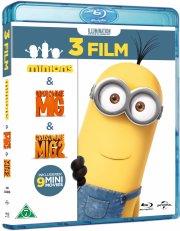 minions boks - 3 film - Blu-Ray