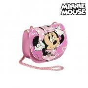 minnie mouse håndtaske i lyserød med snor - Diverse