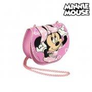 minnie mouse håndtaske i pink med snor - Diverse