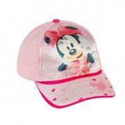 minnie mouse kasket til børn i pink - 48-50 cm. - Diverse