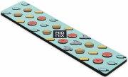 mionix long pad ice cream gaming musemåtte i neon blå - Gaming