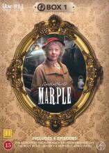 miss marple - boks 1 - DVD