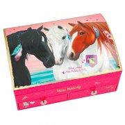 smykkeskrin til piger - 3 heste - miss melody - Kreativitet