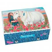 smykkeskrin til piger - pige med hest - miss melody - Kreativitet