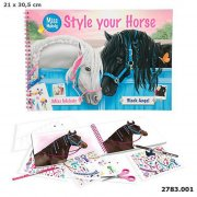 miss melody malebog - style your horse - Kreativitet