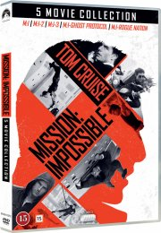 mission impossible 1-5 box set - DVD