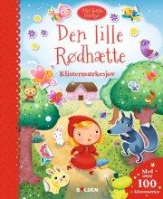 mit første eventyr: den lille rødhætte - bog