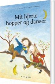 mit hjerte hopper og danser - bog