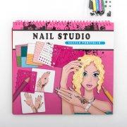 mode malebog til børn - negle studio - Kreativitet
