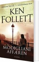 modigliani-affæren - bog
