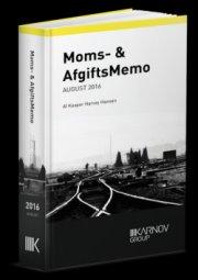 moms & afgiftsmemo august 2016 - bog