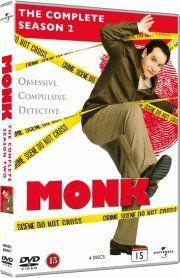 monk - sæson 2 - DVD