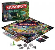 monopoly: rick and morty version - engelsk - Brætspil