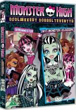 monster high - dødlækkert dobbelteventyr - DVD