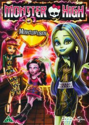 monster high - freaky fusion - DVD