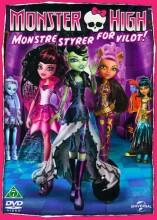 monster high: monstre styrer for vildt / monster high: ghouls rule - DVD