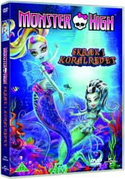 monster high - skræk i koralrevet - DVD