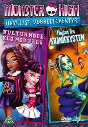 monster high: uhyrligt dobbelteventyr - DVD