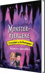 elverpigen og ravnedrengen 2 - monsterbjergene - bog