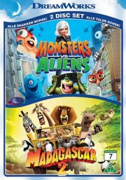 monsters vs aliens // madagascar 2 - DVD