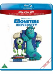 monsters university - disney pixar  - 3D Blu-Ray+Blu-Ray