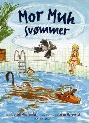 mor muh svømmer - bog