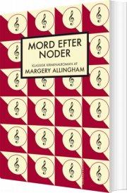 mord efter noder - bog