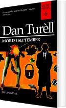 mord i september - bog