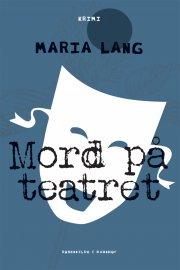 mord på teatret - bog