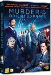 murder on the orient express - 2017 - DVD