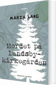 mordet på landsbykirkegården - bog