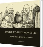 more post-it monsters  - English edition