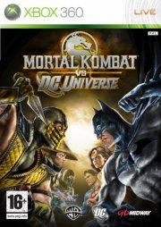 mortal kombat vs. dc universe - xbox 360