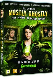 mostly ghostly: one night in doom house - DVD