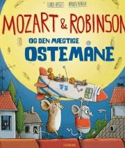 mozart & robinson og den mægtige ostemåne - bog