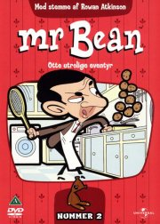 mr. bean cartoon 2 - 8 utrolige tegnefilm - DVD