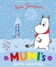 mumi's første vinterdag - bog