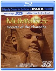 mummies - secrets of the pharoahs - 3d imax - Blu-Ray