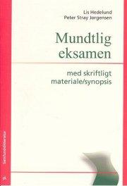 mundtlig eksamen med skriftligt materiale/synopsis - bog