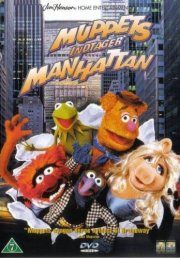 muppet show - muppets indtager manhattan / the muppets take manhattan - DVD