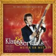 klaus & servants - musik er mit liv - cd