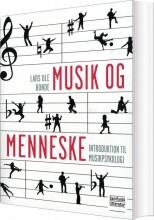 musik og menneske - bog