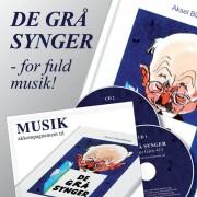 musikakkompagnement til de grå synger 3 - CD Lydbog