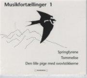 Image of   Musikfortællinger 1 - H.c. Andersen - Cd Lydbog